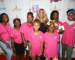 Wendy Williams and campers